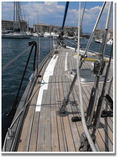 entretien du pont teck bateau par le professionnel du nautisme port fr jus dans le var. Black Bedroom Furniture Sets. Home Design Ideas